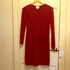 100% wool holiday dress